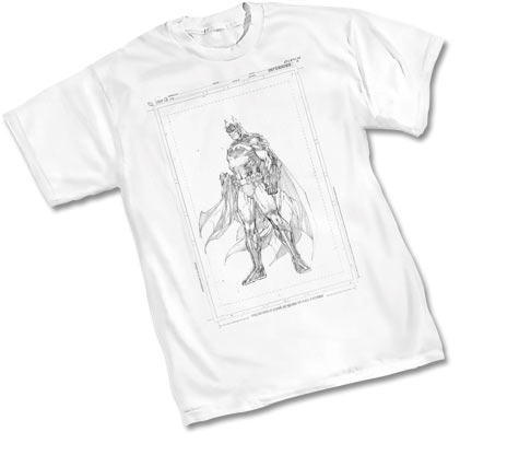 BATMAN: RAW T-Shirt by Jim Lee