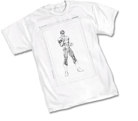 GREEN LANTERN: RAW T-Shirt by Jim Lee