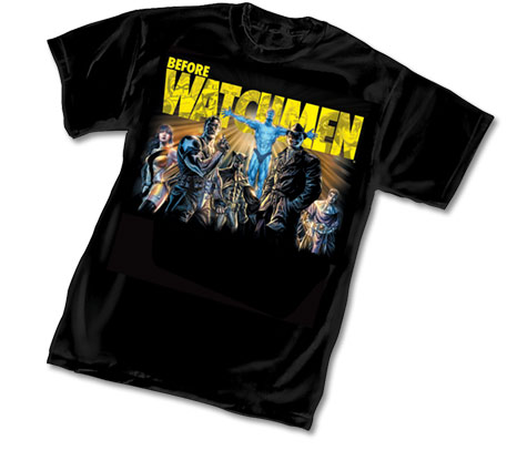 BEFORE WATCHMEN T-Shirt by Lee Bermejo
