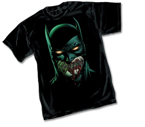 BATMAN: ZOMBIE T-Shirt by David Finch