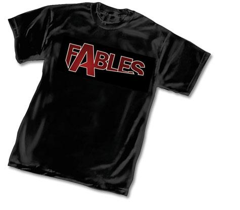FABLES LOGO T-Shirt • L/A