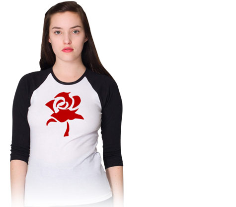 FABLES: RED ROSE Baseball Shirt • L/A