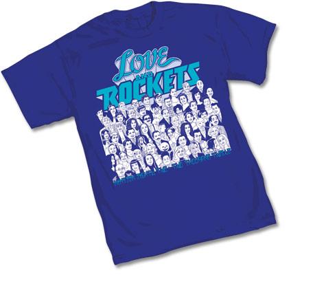 LOVE & ROCKETS: 30TH ANNIVERSARY T-Shirt
