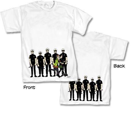 LOVE & ROCKETS: COPS T-Shirt