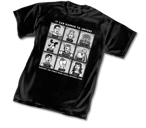 CBLDF: ANYONE T-Shirt by R. Sikoryak