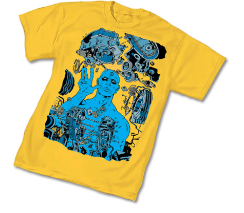 BW: DR. MANHATTAN II T-Shirt by Paul Pope