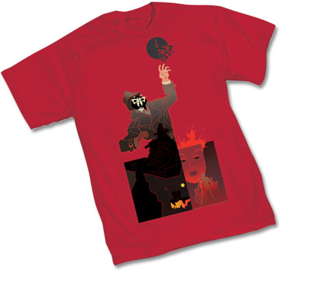 BW: RORSCHACH RED T-Shirt by Steranko