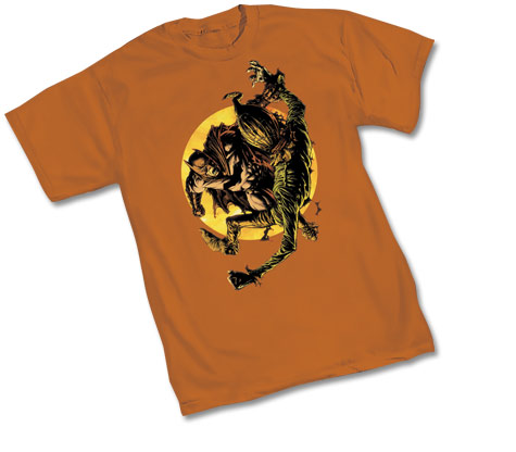 BATMAN & SCARECROW T-Shirt by David Finch