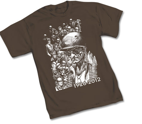 SGT. ROCK: TRIBUTE T-Shirt by Joe Kubert