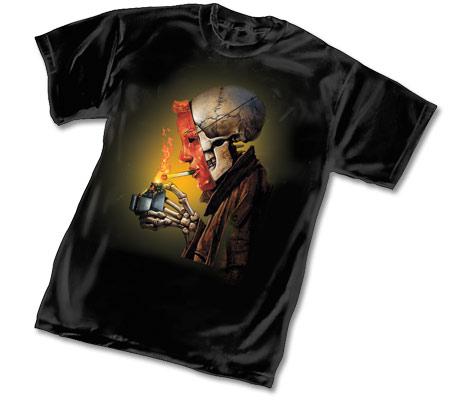 HELLBLAZER: LIGHT-UP T-Shirt by Simon Bisley