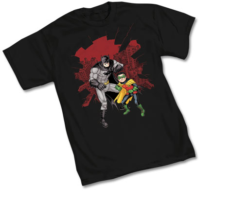 BATMAN & ROBIN: SHATTER T-Shirt by Chris Burnham