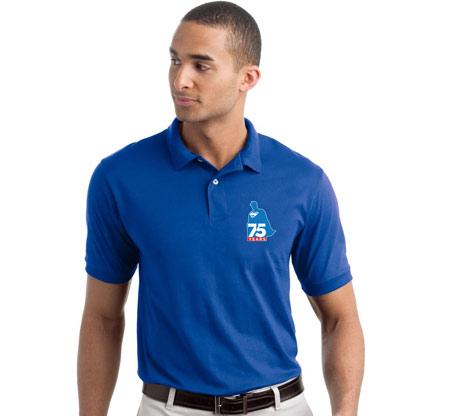 SUPERMAN 75th ANNIVERSARY Polo Shirt • L/A