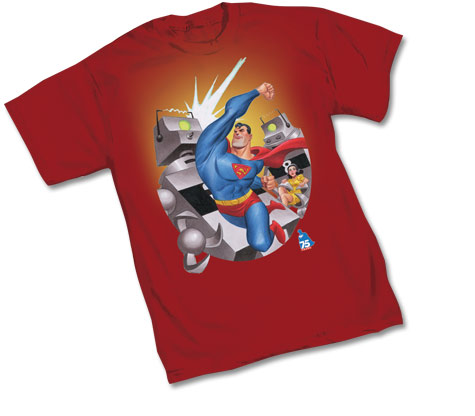 SUPERMAN 75th: Classic T-Shirt by Bruce Timm
