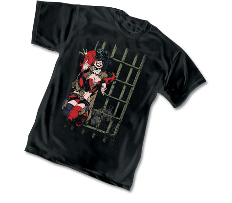 HARLEYQUINN:LOCK-UP T-Shirt by Jason Pearson