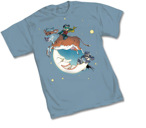 B&R: OVER THE MOON T-Shirt by Chris Burnham