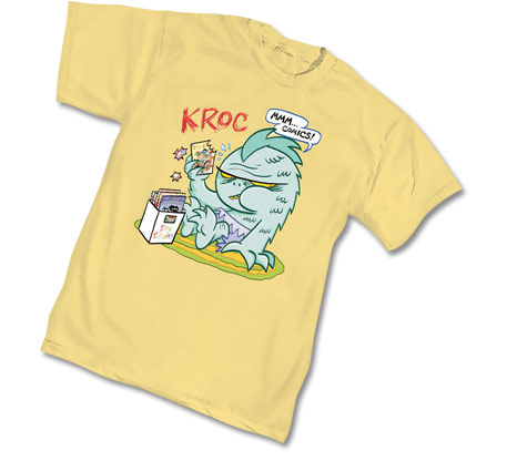 TINY TITANS: KROC T-Shirt by Art Baltzar