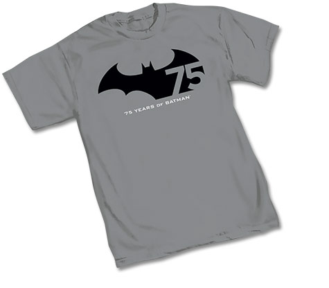 BATMAN 75th ANNIVERSARY LOGO T-Shirt