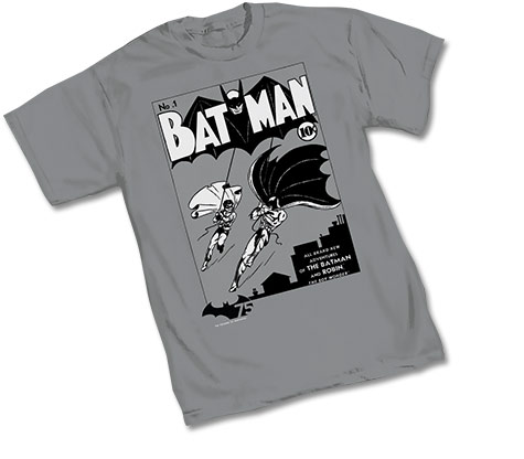 BATMAN 75th: BATMAN #1 T-Shirt • L/A