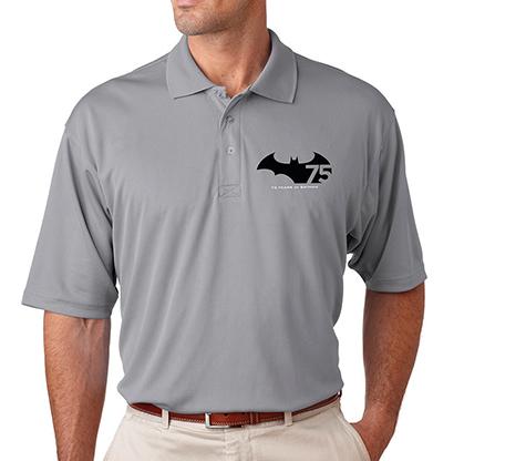 BATMAN 75th ANNIVERSARY LOGO Polo Shirt