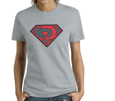 SUPERMAN:REDSONSYMBOL Women's Tee