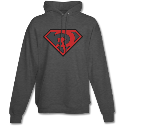 SUPERMAN:REDSON SYMBOL Hoodie
