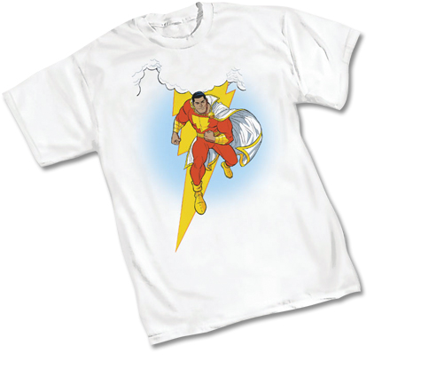 SHAZAM!: THUNDERWORLD T-Shirt by Cameron Stewart