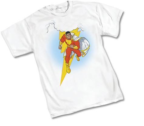 SHAZAM!:THUNDERWORLD T-Shirt by Cameron Stewart