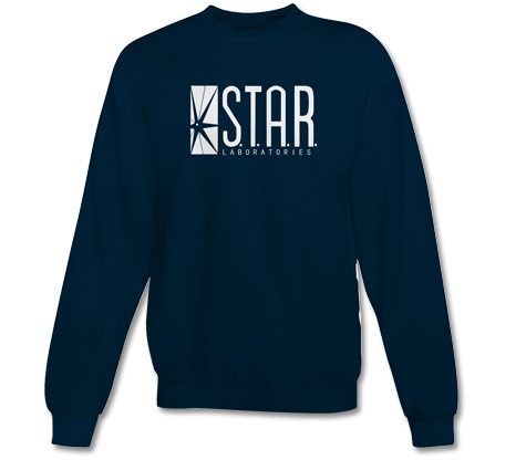 STAR LABORATORIES Crew Neck Sweatshirt