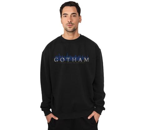 GOTHAM LOGO Crew Neck Sweatshirt