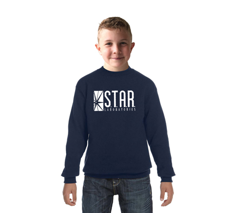 STAR LABORATORIES Youth Crew Neck Sweatshirt