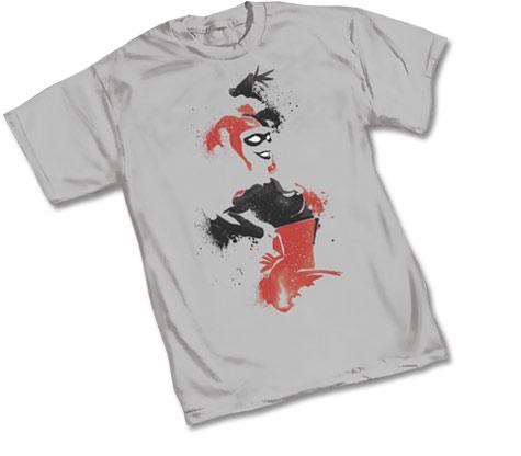 HARLEY QUINN: STENCIL T-Shirt