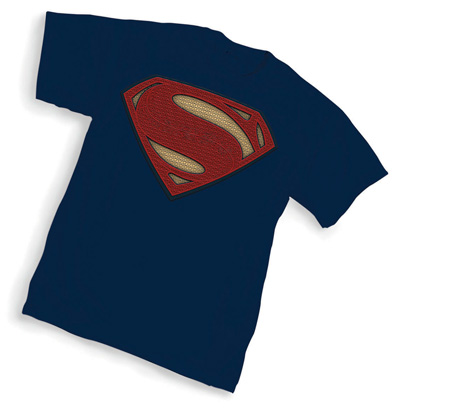BvS: SUPERMAN SYMBOL T-Shirt (navy blue)