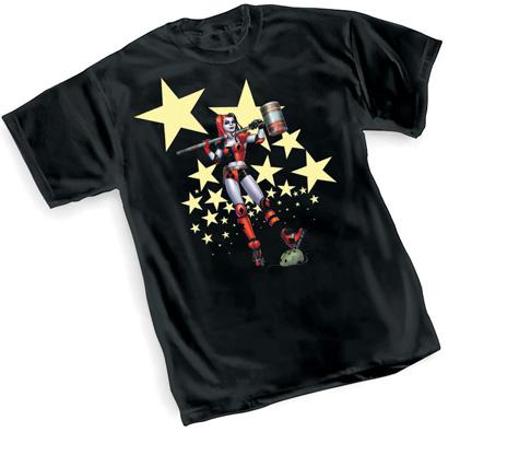 HARLEYQUINN:STARS T-Shirt by Amanda Conner
