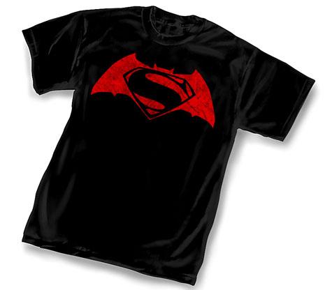 BvS DISTRESSED SYMBOL T-Shirt