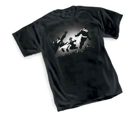 DK III: SKYLINE T-Shirt by Jim Lee