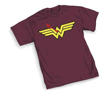 WATCHMEN/WONDER WOMAN SYMBOL T-Shirt