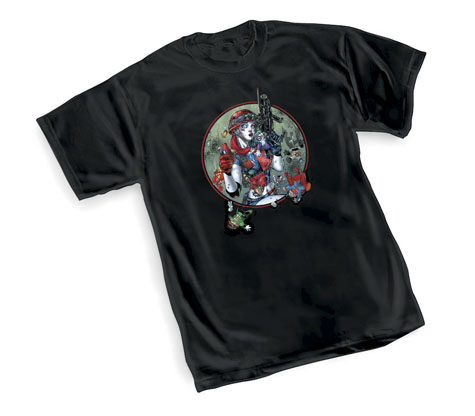 HARLEY QUINN: SOLDIER GIRL T-Shirt by Jim Lee