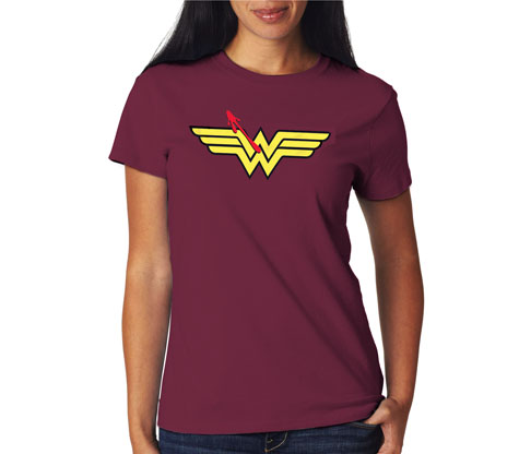 WATCHMEN/WONDER WOMAN SYMBOL Women's Tee