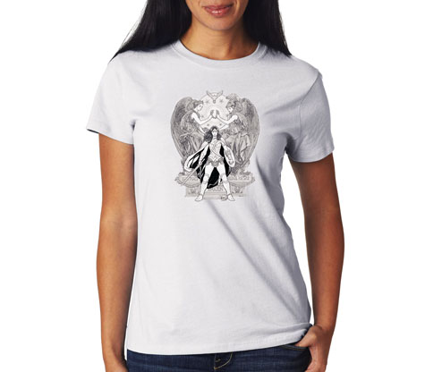 WONDER WOMAN: HERITAGE Women's Tee