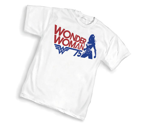 WONDER WOMAN 75th ANNIVERSARY T-Shirt