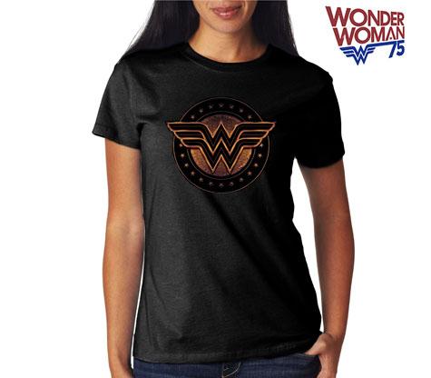WONDERWOMAN:SHIELD Women's Tee