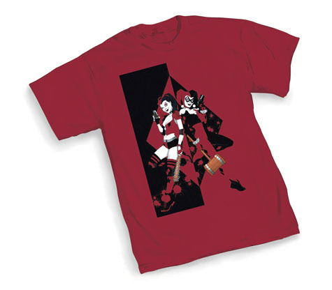 HARLEY QUINN: TWINS T-Shirt by Amanda Conner