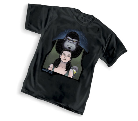 MOTOR GIRL T-Shirt by Terry Moore