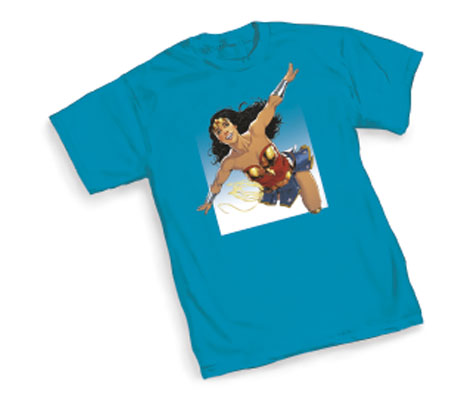 WONDERWOMAN:CLOUDS T-Shirt by Nicola Scott