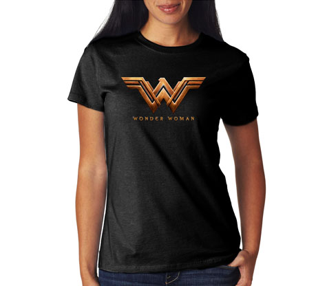WONDER WOMAN MOVIE LOGO Women's Tee
