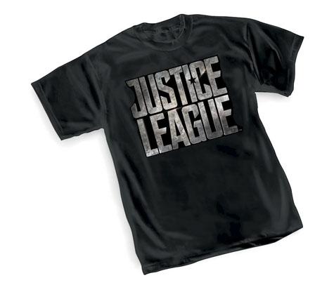 JUSTICE LEAGUE MOVIE LOGO T-Shirt
