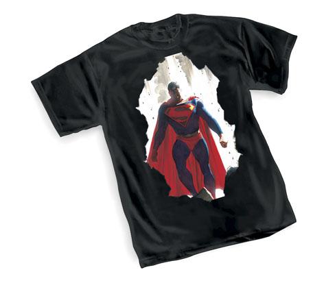SUPERMAN: BREAKOUT T-Shirt by Alex Ross