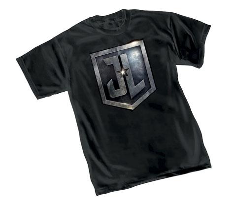 JUSTICE LEAGUE: SHIELD T-Shirt