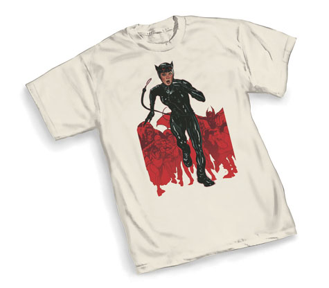 CATWOMAN: CHASE T-Shirt by Adam Hughes