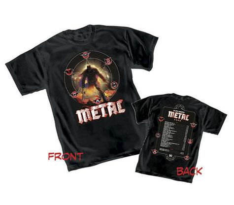 DARK NIGHTS: METAL TOUR T-Shirt by Greg Capullo